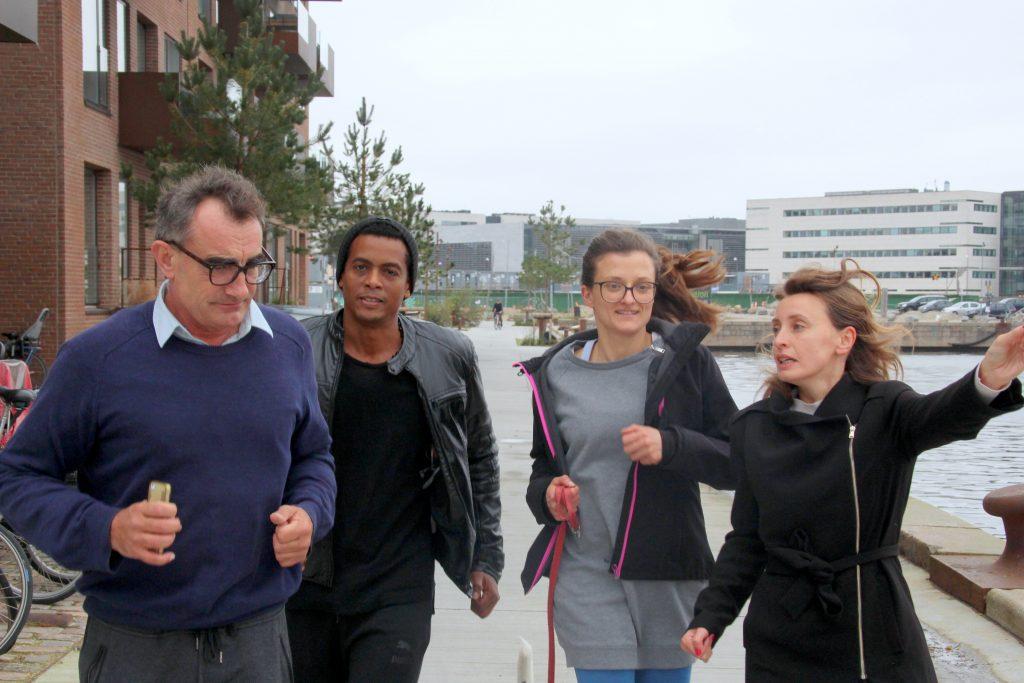 CRITICAL RUN in Nordhavn, DK. Artformat by Thierry Geoffroy/COLONEL